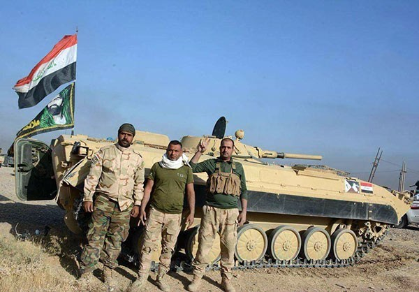 Photo of Photos-Iraqi Popular Forces Fighting for Mosul as ISIL Defenses Collapse