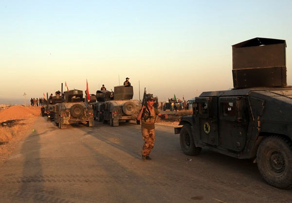 Photo of Photos- Iraq's Joint Military Forces Push into Mosul