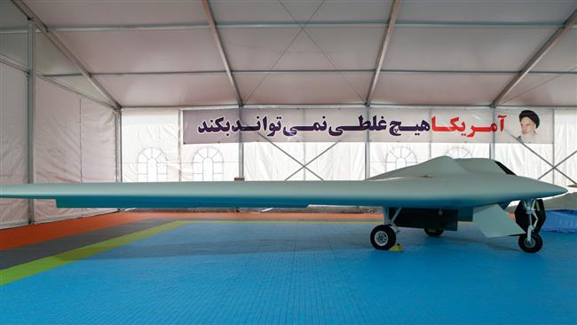 Photo of Iran's IRGC unveils new combat drone
