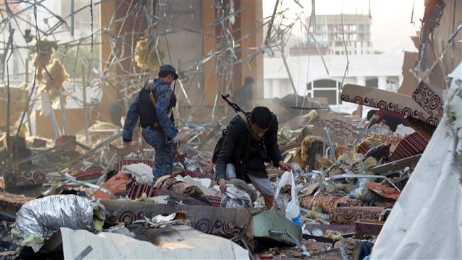 Photo of WORD SILENT TO YEMEN CARNAGE: Slaughterer Saudi Regime committed act of terror in Sana'a, nearly a thousand martyrs