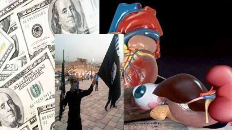Photo of ISIL trading Iraqi children's body organs