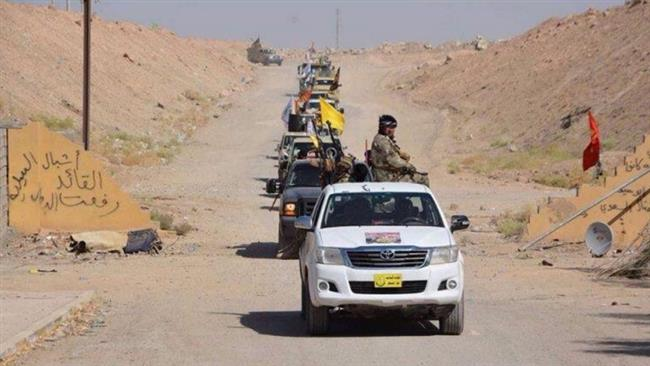 Photo of Hashd Shaabi fighters launch operation west of Mosul
