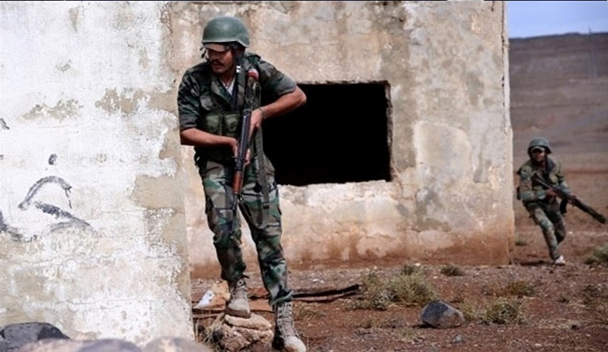 Tough Battle Underway between Syrian Army, Terrorists in Western Damascus