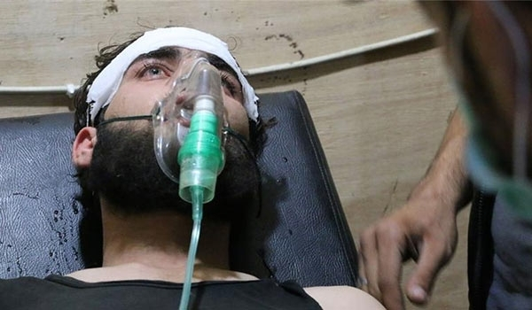 Photo of Terrorists Use Chemical Weapons against Civilians in Aleppo Again
