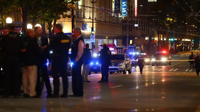 Photo of Five people shot in Seattle near anti-Trump protests