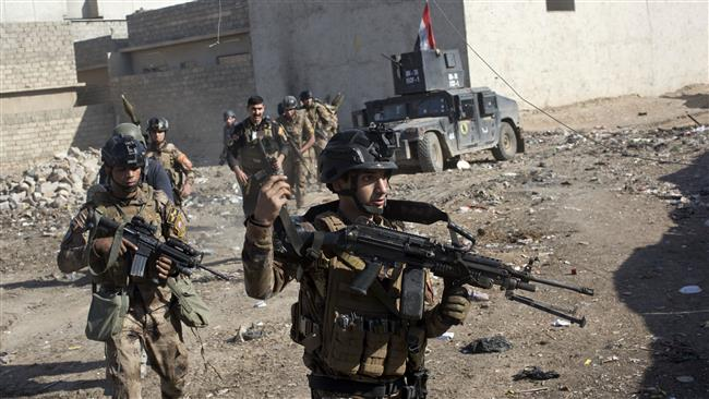 Photo of Iraqi soldiers advance deeper into eastern Mosul