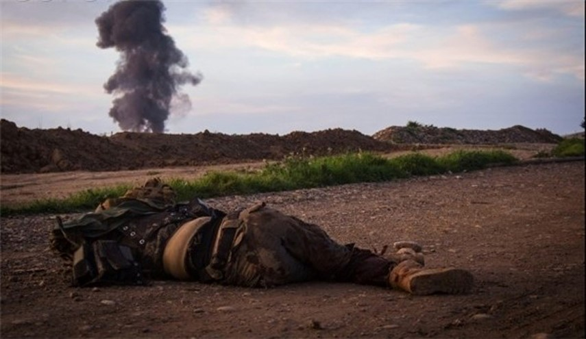 Photo of Senior ISIS Commander Killed By Iraqi Forces in Southern Mosul