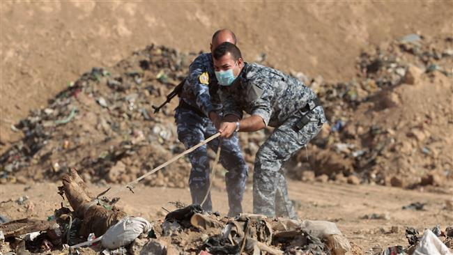 Photo of Iraqi forces uncover mass grave in push for Mosul