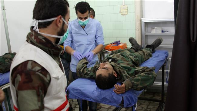 Photo of Eastern Aleppo targeted in terrorist chemical attack