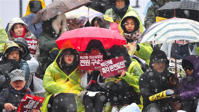 Photo of South Koreans in biggest rally to demand Park ouster