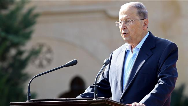 Photo of Lebanon's president pledges to root out corruption