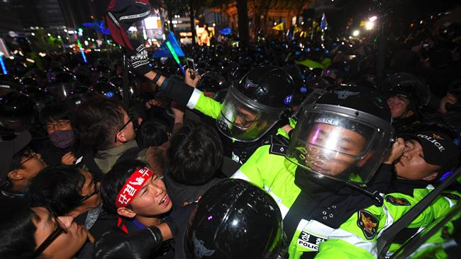 Photo of S Korea deploys 20K police forces for huge rally against president