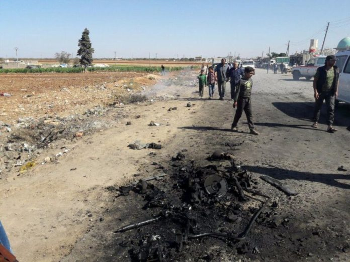 Photo of 28 terrorists killed by car bombs amid rebel infighting in border town of Azaz