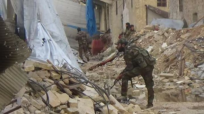 Photo of In video: Syrian Army elite troops punch into east Aleppo