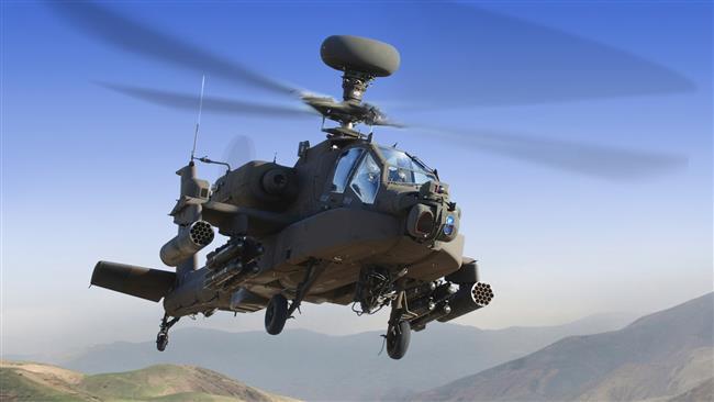 Photo of Yemeni forces shoot down Saudi Apache in Najran