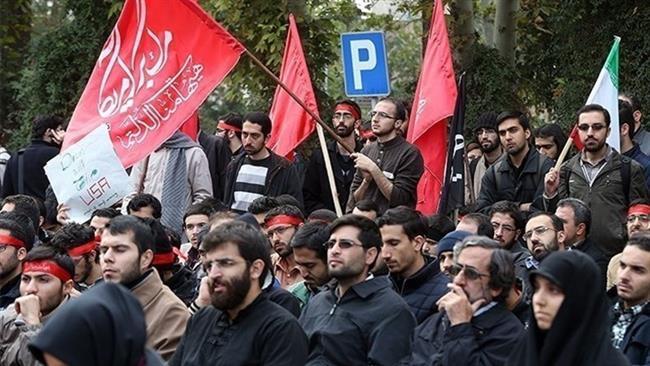 Photo of Azeris protest butcher Netanyahu's Baku visit to see zionist brother Aliyev
