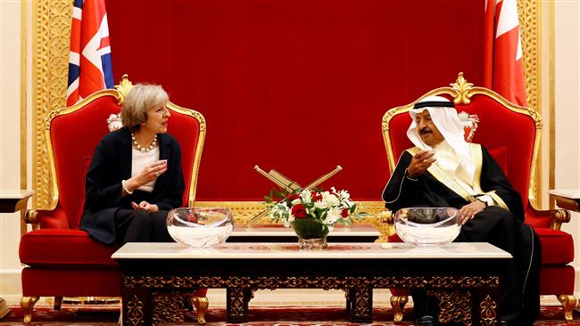Photo of Zionist May in Bahrain to start 'new chapter' despite international outrage