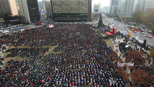 Photo of S Korea opposition MPs file impeachment motion against Park