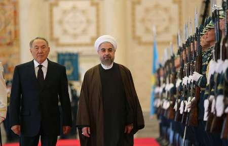 Photo of Iran inks deals as Rouhani visits Kazakhstan