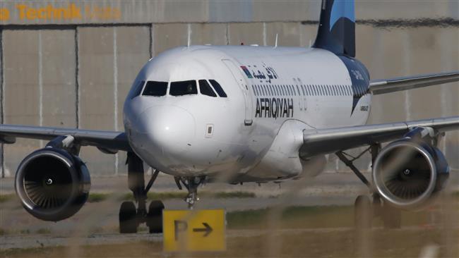 Photo of 'Hijacked' Libyan plane lands in Malta