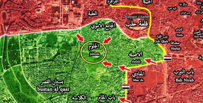 Photo of Syrian Army's lightening advance continues in east Aleppo