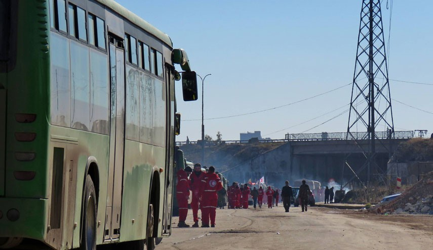 VIDEO: 5,000 Militant with Families Will Be Evacuated out of Aleppo