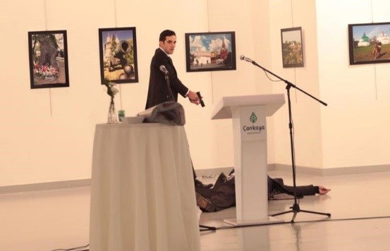 VIDEO: Russian Ambassador Assassination Scene in Turkish TV Series