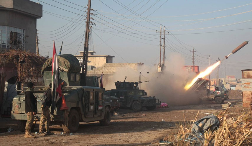 VID: Iraqi Joint Forces Resume Mosul Operation by Advancing from 3 Sides