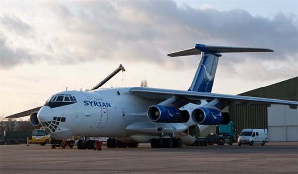 Photo of Syrian Cargo Plane Drops More Arms, Munitions over Deir Ezzur Airbase