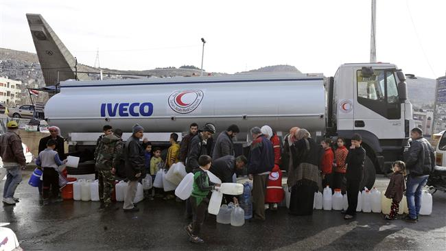 Photo of Syrian govt. reaches deal to fix damaged Damascus water source