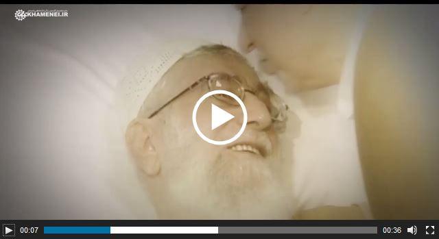 Photo of WATCH| Ayatollah Rafsanjani visited Imam Ali Khamenei at the hospital