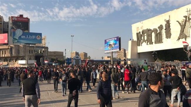 Photo of Sayyed Sadr supporters hold fresh demo in Iraqi capital