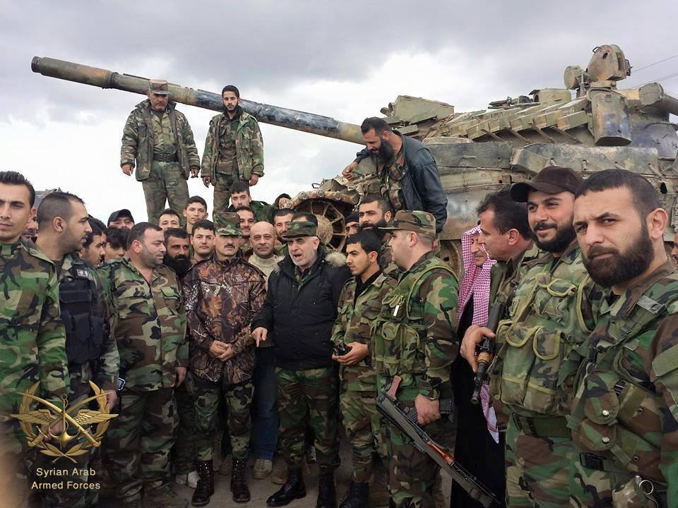 Photo of Syrian Army liberates last hilltops overlooking Hayyan Gas Fields