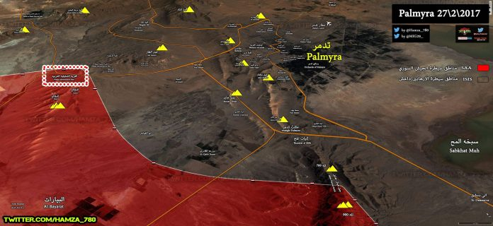 Photo of Syrian Army unstoppable amid new gains on the outskirts of Palmyra