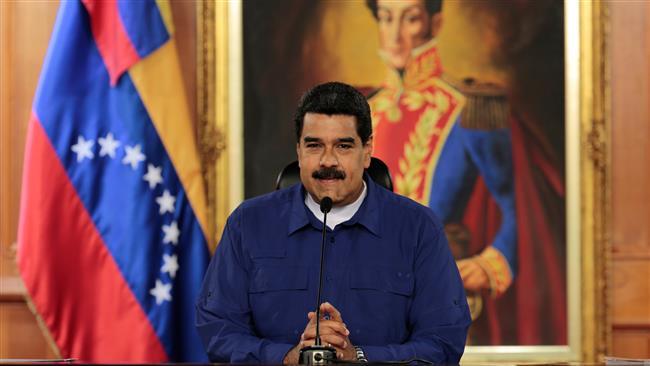 Photo of Anti imperialist Venezuela President Maduro kicks out zionist horn,warmonger CNN, calling it 'instrument of war'