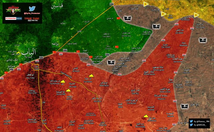 Photo of Syrian Army, Turkish-backed terrorists vie for control in northern Syria- Map