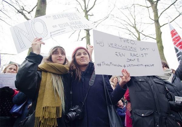 Photo of Photos- Belgium Protesters Condemn Trump's Muslim Ban
