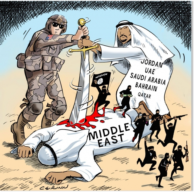 Photo of Caricature: The New Middle East Project…