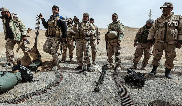 Photo of Syrian Soldiers Preparing for Large-Scale Anti-ISIL Offensive in Deir Ezzur