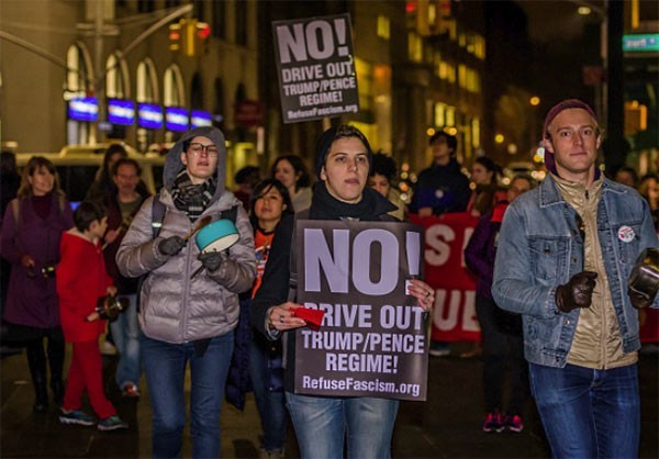 Photo of Photos- Anti-Trump Protests Continues in US, Canada