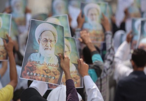 Photo of Bahrainis Stage Fresh Demonstations to Show Support for Sheikh Qassim
