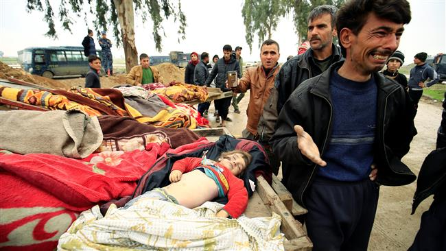 Photo of Satanic US admits its airstrikes killed 100s of civilians in Mosul