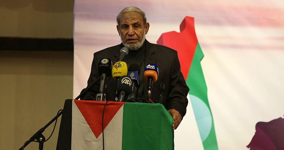 Photo of Zahhar: No change in Hamas principles