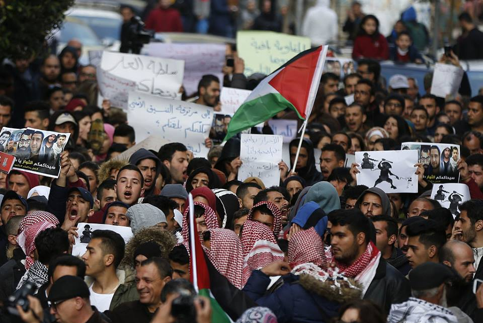 Photo of Photos-Mass rally pushes for bringing Abbas to court