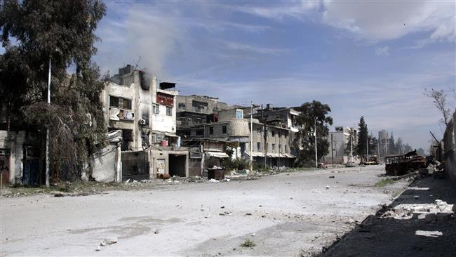 Photo of Heavy clashes have continued between the Syrian government forces and the Takfiri terrorists around Damascus