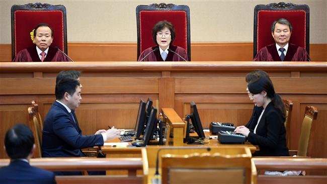 Photo of VIDEO: South Korea's top court permanently removes president Park from office