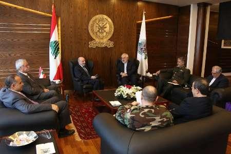 Photo of Lebanese DM appreciates Iran's support in war against Takfiri