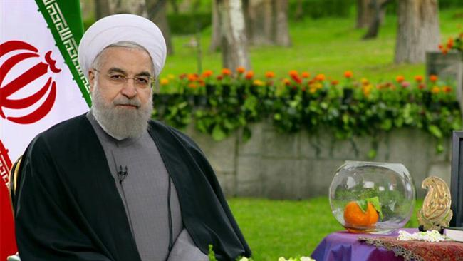 Photo of Rouhani hopes for peace in Nowruz message