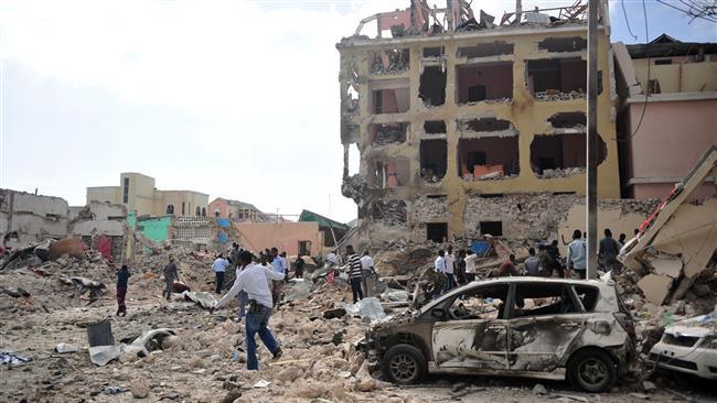 Photo of Car bomb explosion kills 13 in Mogadishu