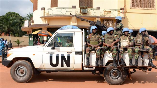 Photo of UN peacekeepers, armed men occupy schools in CAR: HRW